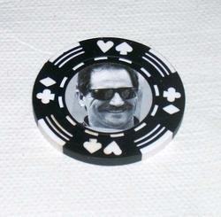 Dale Earnhardt Las Vegas Casino Poker Chip limited ed