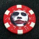 Batman Dark Knight JOKER Las Vegas Casino Poker Chip
