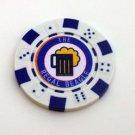 Threes Company Regal Beagle Las Vegas Casino Poker Chip