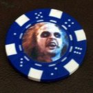 BeetleJuice Las Vegas Casino Poker Chip limited edition