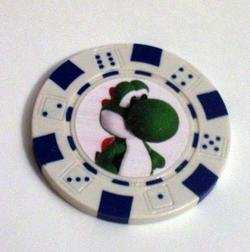 Nintendo YOSHI Vegas Casino Poker Chip limited edition