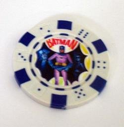1966 Batman Penguin Las Vegas Casino Poker Chip