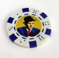 Frank Sinatra Las Vegas Casino Poker Chip limited ed