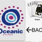 ABC tv show prop Oceanic Airlines playing cards prop