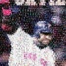 Amazing Boston Red Sox David Ortiz Montage w/COA