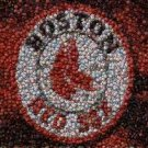 Amazing Boston Red Sox Bar Sign Bottlecap mosaic print