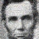 Amazing Abraham Abe Lincoln Civil War Montage Mosaic