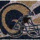 Best Bar Game Room St Louis Rams Sign EVER framed w/COA