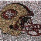 Best Bar Game Room San Fransisco 49ers Sign framed COA