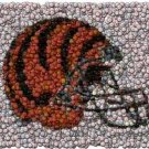 Best Bar Game Room Cincinnatti Bengals Sign framed COA