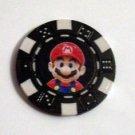 Nintendo Mario super Las Vegas Casino Poker Chip lim ed