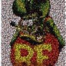 Amazing Rat Fink Bottlecap mosaic print