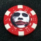 Batman Joker Heath Ledger Vegas Casino Poker Chip RARE