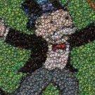 Monopoly Rich Uncle Pennybags Bottlecap mosaic print