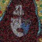 KISS Ace Frehley 1978 Poker Chip mosaic print with COA