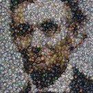 Amazing Abraham Lincoln political button mosaic print