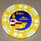 The Beatles YELLOW SUBMARINE Vegas Casino Poker Chip