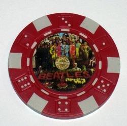 The Beatles Sgt. Peppers Las Vegas Casino Poker Chip