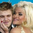 faux Oil Painting Anna Nicole Smith with Daniel CANVAS
