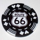 Las Vegas Route 66 Casino Poker Chip limited edition