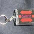 Star Trek RED ALERT Blinking KeyChain no Batteries