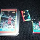 Michael Jordan rookie card Lighter and Tin with COA