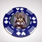 Las Vegas Baphomet Casino Poker Chip limited edition
