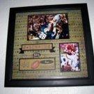 John Riggins Washigton Redskins framed display LIMITED!
