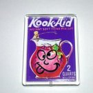 acrylic Wacky Packages KOOK-Aid magnet display