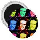 1974 Willy Wonka oompa loompa magnet 3 ich diameter