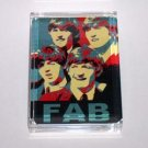 The Beatles Fab Four Acrylic Executive Desk Paperweight