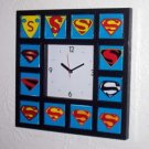 History of Superman S wall or table clock vintage - now