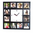 Sy Fy TV Show Eureka square wall desk Clock 12 pictures