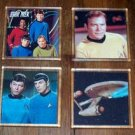 Star Trek acrylic & canvas coaster set Limited Edition