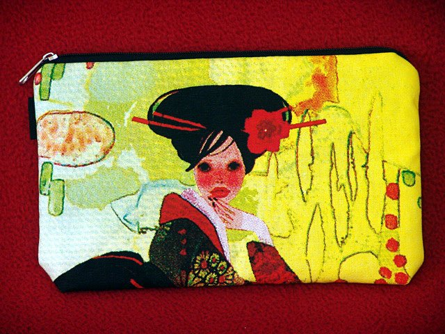 *Pretty Geisha * Cosmestic/Mobile/Makeup/Ipod Pouch