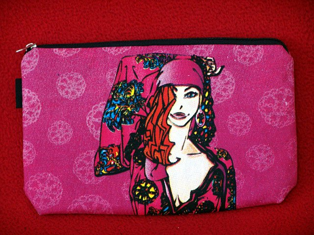 *Gypsy lady* Cosmestic/Mobile/Makeup/Ipod Pouch