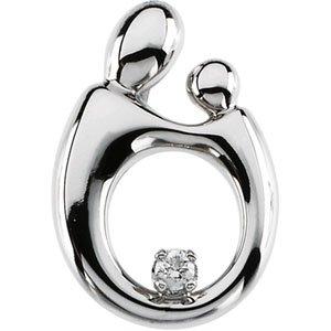Mother and Child® Diamond Pendant