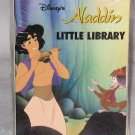 Disney Aladdin Little Library set of 4 Small Books MIP 1992