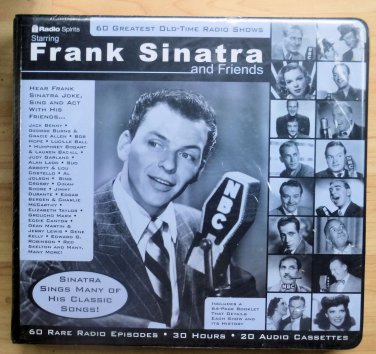 Frank Sinatra and Friends - 60 Greatest Old-Time Radio Shows 30 Cassettes NIP