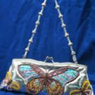 Ladies Evening Hand bag - Bead & Sequin Butterfly Handbag
