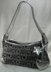 Small Fabric Handbags with Front Latch & Star Heart Dangle