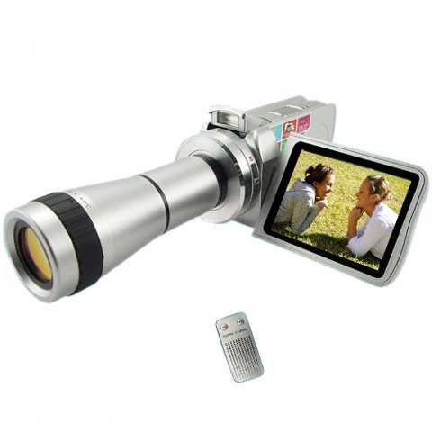 Digital Video Camcorder W/ Optical Telescope Zoom Lens