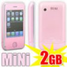 Mini PDA Touch Mobile 4-Bamd 2-Sim Standby PINK cell PHONE