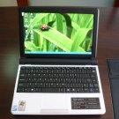 Netbook-Mini Laptop-WHITE 10.2 inch Intel N270 1.6G-1GB DDR2-160G