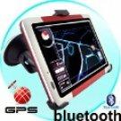 GPS 5 Inch Touch Portable Sport  Navigator FM Transmitter 4GB