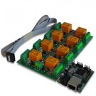 Web SNMP controlled 8 Relay Board v2, 12VDC