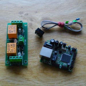 Web SNMP controlled 2 Relay Board, 24VDC