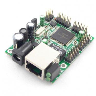 DAEnetIP2 - SNMP Ethernet controller with 24 digital/analog I/O