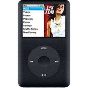 Apple ipod 160gb Classic 7th generation mp3 video player