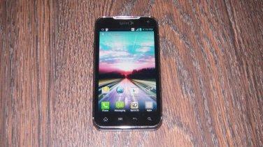 LG LS840 Viper 4G LTE 2GB Black Sprint Smartphone Clean ESN
